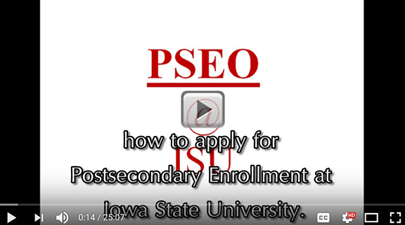 PSEO how to apply and more information