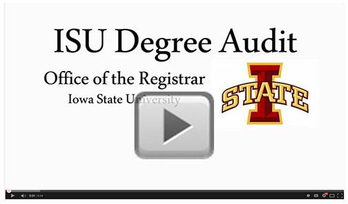 degree audit video